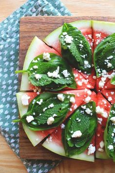 Late-Summer Treat: Turn Your Watermelon into a Pizza! #dining #foodie