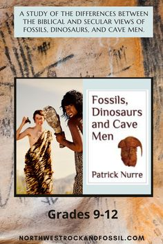 """The Fossils, Dinosaurs, and Cave Men lessons are designed to help the student understand the philosophy behind the Geologic Time Table, how dinosaurs fit into a Biblical perspective, and the Biblical view of the Tower of Babel event and how it influenced the development of man and civilization.  In addition the student will learn how to """"read"""" the rock layers through a Biblical view of Earth history. Taught from a Young Earth, Global Flood perspective. #christianhomeschooling #geology… Bible Science, Earth Science, Science And Nature, Homeschool Science Curriculum, Homeschool High School, Homeschooling, Tower Of Babel, Spinosaurus, Adventure Tours"""