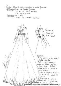 Простая выкройка свадебного платья / Простые выкройки / ВТОРАЯ УЛИЦА