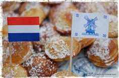 The Kitchen Lioness: Koninginnedag 2013 - Queen´s Day & Poffertjes (Mini Dutch Pancakes)