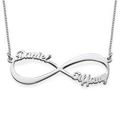 Infinity Name Necklace   MyNameNecklace