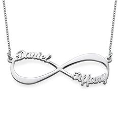 I think I know someone who fits this.  <3 Infinity Name Necklace | MyNameNecklace