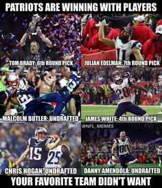 I love Tom Brady and his teammates very much they accomplish a lot I mean a lot lol