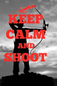 Keep calm and shoot. We don't hunt. We live it. Check out the latest in tricks and tips @ www.bowhunting-usa.com