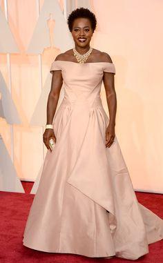 2015 #Oscars: Red Carpet Arrivals Viola Davis
