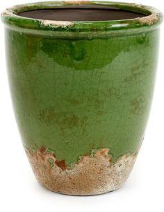 Serax - Bloempot - Aardewerk - Keramiek - Groen