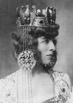 Luisa Adele Rosa Maria Casati Stampa di Soncino,marquesa de Roma, neè Amman
