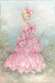 """Bridgette"" Original Fine Art Glicee Print by Debi Coules"