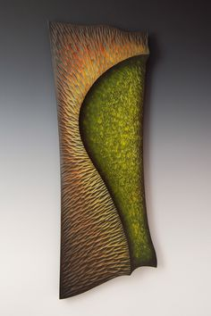 Persuasive Currents No. 1 by John Paul Goodyear of Torbay, Newfoundland. 2013 NICHE Awards Finalist. Category: Wood, Painted/Colored