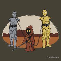 The Walking Droids - Star Wars + The Walking Dead