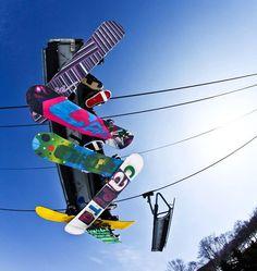 colore snow board