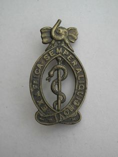 East African Medical Corps Badge