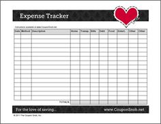 Worksheets Expense Tracking Worksheet this free printable expense tracker keeps tabs on all your looks like a highly useful tool thanks charity trackerhousehold