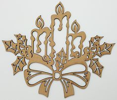 Any laser processing marks can be removed by a light sanding or simply painting over. Wooden Christmas Trees, Christmas Bows, Christmas Presents, Crafts To Make, Arts And Crafts, Cut Out Shapes, Shape Art, Farm Animals, Decor Crafts