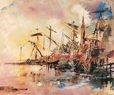 Bildergebnis für peindre une marine au couteau et à l'huile
