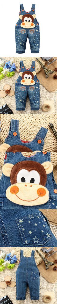 Girls Next Girls Clothing 2015 Autumn Five-pointed star Denim Children Overalls Girls Spring Baby Romper Cotton 10-24 Month