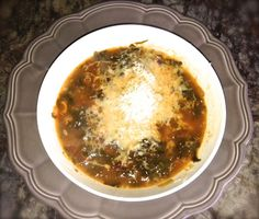 Tuscan meatball soup - gluten-free. This delicious hearty soup is loved by everyone and is a meal on it's own.