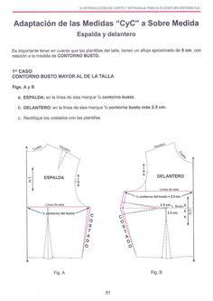 costura corte y confeccion patronaje