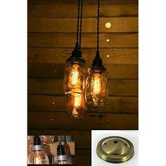 Solar Lid for Mason Jar LED Light Lantern Regular Standard Size Lid1