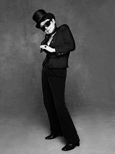 Yoko Ono in The Little Black Jacket: Chanel's Classic Revisited by Carine Roitfeld & Karl Lagerfeld