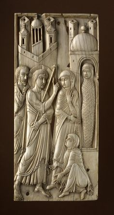 Production place Made in Venice (?) (all objects) (Europe,Italy,Veneto,Venice (province),Venice) Made in Egypt (? Raising Of Lazarus, Mary And Martha, First Finger, Byzantine, British Museum, Egypt, Objects, Miniatures, Statue