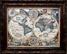 Hey, I found this really awesome Etsy listing at http://www.etsy.com/listing/81488248/double-hemisphere-world-map-print-of-a