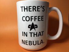 There's coffee in that nebula Star Trek coffee mug cup $15.50