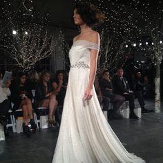 Jenny Packham wedding dress, fall 2014 collection. Photo: Charanna K. Alexander/The New York Times