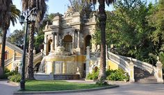 Santa Lucía Hill Santa Lucía Hill (Spanish: Cerro Santa Lucía) is a small hill in the centre of Santiago, Chile. It is situated between Alameda del Libertador Bernardo O'Higgins in the... #Attraction #Landmark  #Backpackers #Hostelman #Travel #Landmark