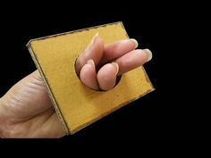 Crazy Holes - Awesome magic trick anyone can do. Magic Tricks Videos, Magic Card Tricks, Cool Magic Tricks, How To Do Magic, Projects For Kids, Youtube, Make It Yourself, Awesome, Illusion