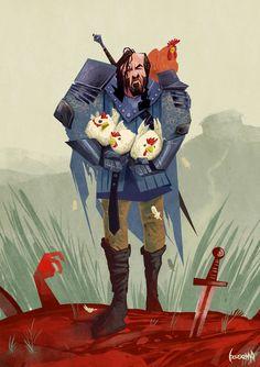 The Hound by JamesBousema