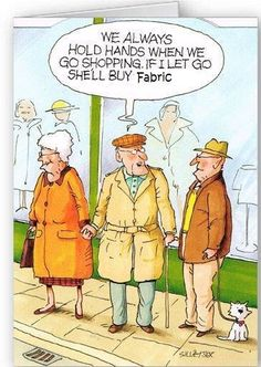 ~ I say...... shopping with your  SO is just like hunting with a game warden!
