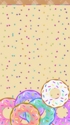 Donuts for all! I lurve how it turned out! It comes with a Zep to match. Food Wallpaper, Wallpaper For Your Phone, Kids Wallpaper, Wallpaper Backgrounds, Iphone Wallpaper, Donut Background, Donut Birthday Parties, Skateboard Design, Donuts