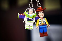 key chain buzz and woody, pixar, disney, toystory