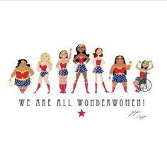 Wonder Women por todo el mundo!