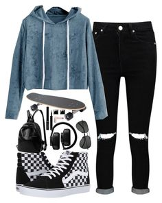1990s Inspired Outfit by demiwitch-of-mischief on Polyvore featuring Boohoo, Vans, Witchery, Master & Dynamic, Yves Saint Laurent, Giorgio Armani and Lipstick Queen