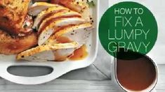 Are you struggling to fix your lumpy gravy? Our Test Kitchen experts show you an easy tip for getting out the lumps in your gravy.