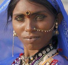 Beautiful people of India.
