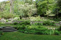 7 Lovely Garden Walks in Massachusetts  Horn-blower Garden at Plymouth Plantation. Take I495 South to Cape Cod,