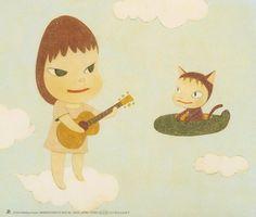 Yoshitomo Nara 2003 Matthew Sweet - Kimi Ga Suki‧Raifu〈マシュー・スイート/馬修.史威特 - キミがスキ・ライフ/來福.我喜歡你〉[RCAM RCAM-22/ Cutting Edge CTCR-16050] #backcover #奈良美智
