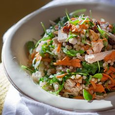 Couscous Salad with Turkey and Arugula | Food & Wine