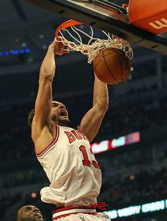 Joakim Noah - Utah Jazz v Chicago Bulls