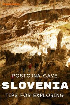 Tips for visiting Postojna Cave in Slovenia, one of the best things to do in the country and less than an hour away from Ljubljana. | Blog by Travel Dudes: Community for Travelers, by Travelers!
