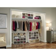 ClosetMaid Organizers   White | Maybe One Day | Pinterest | Shoes Organizer,  Large Artwork And Long Walls