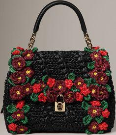 Dolce & Gabbana Handbags   Beautiful Crochet Stuff