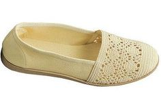 Claudia #crochet flat similar to TOMS shoes but this one is from Thierry Mugler