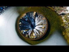 Covão dos Conchos inside the hole - O segredo escondido da Serra da Estrela - 4K Ultra HD - YouTube