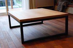 チェリーのローテーブル steellegtable | オリジナル家具 | 家具工房クレアーレ