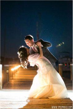 Chesapeake Bay Weddings. Outdoor Wedding Ceremony. Osprey Point Weddings. Photo Credit: www.tpozphoto.com