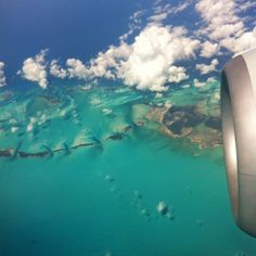 view from plane <3